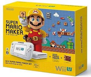 Console Usado Nintendo WiiU Mario Maker Set 32GB (Shiro)