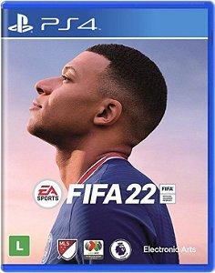 Jogo PS4 Novo FIFA 22
