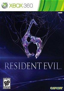 Jogo XBOX 360 Usado Resident Evil 6