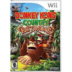 Jogo Wii Usado Donkey Kong Country Returns