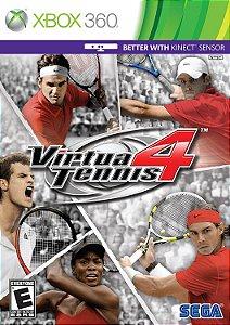 Jogo XBOX 360 Usado Virtua Tennis 4