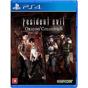 Jogo PS4 Usado Resident Evil Origins Collection