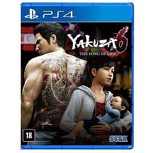 Jogo PS4 Usado Yakuza 6: The Song of Life