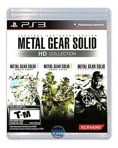 Jogo PS3 Usado Metal Gear Solid HD Collection
