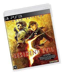 Jogo PS3 Usado Resident Evil 5 Gold Edition