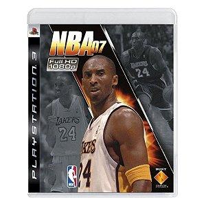 Jogo PS3 Usado NBA 07