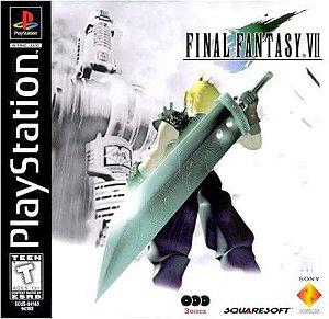 Jogo PS1 Usado Final Fantasy VII