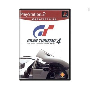 Jogo PS2 Novo Gran Turismo 4