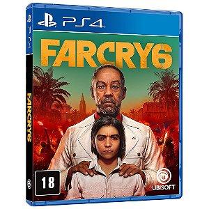 Jogo PS4 Novo Far Cry 6