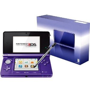 Console Usado Nintendo 3DS Midnight Purple