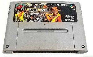 Jogo SNES Usado Super Wrestlemania (JP)