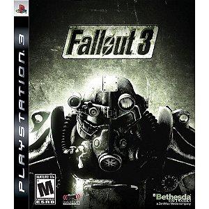 Jogo PS3 Usado Fallout 3 (Platinum Hits)