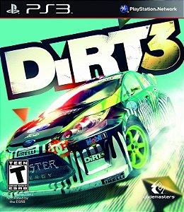 Jogo PS3 Usado DiRT 3