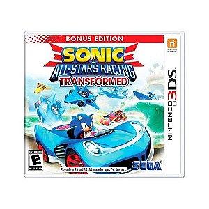 Jogo 3DS Usado Sonic All-Stars Racing Transformed