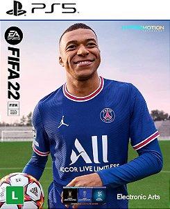 Jogo PS5 Novo FIFA 22