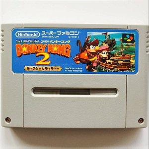 Jogo SNES Usado Donkey Kong Country 2 (JP)