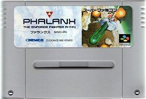 Jogo SNES Usado Phalanx (JP)