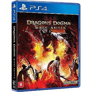 Jogo PS4 Usado Dragon's Dogma Dark Arisen