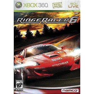 Jogo XBOX 360 Usado Ridge Racer 6