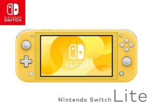 Console Nintendo Switch Lite Yellow Novo