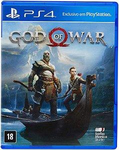 Jogo God of War PS4 Usado