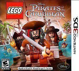 Jogo LEGO Piratas do Caribe 3DS Usado