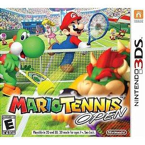 Jogo Mario Tennis Open Nintendo - Nintendo 3DS