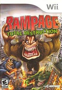 Jogo Rampage Total Destruction Nintendo Wii Usado
