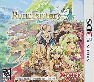 Jogo Rune Factory 4 Nintendo 3DS Usado