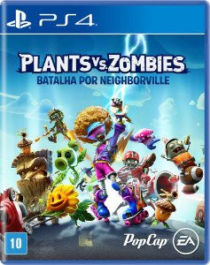 Jogo Plants vs Zombies Batalha por Neighborville PS4 Novo