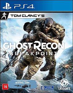 Jogo Tom Clancy's Ghost Recon Breakpoint PS4 Novo