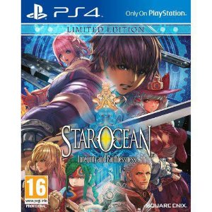 Jogo Star Ocean Integrity and Faithlesness Limited Edition PS4 Novo