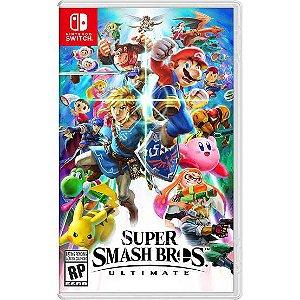 Jogo Super Smash Bros Ultimate Nintendo Switch Novo