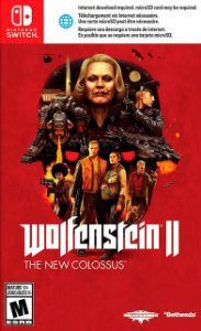 Jogo Wolfenstein II: The New Colossus Nintendo Switch Usado