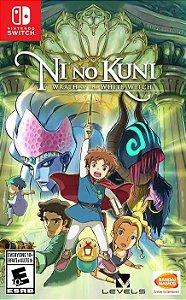 Jogo Ni No Kuni: Wrath of the white witch Nintendo Switch Novo