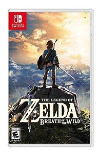 Jogo The Legend of Zelda Breath of the Wild Nintendo Switch Novo