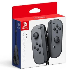 Periférico Joy-Con Cinza Nintendo Switch Novo