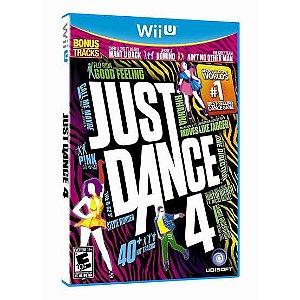 Jogo Just Dance 4 Nintendo Wii U Usado