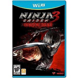 Jogo Ninja Gaiden 3 Razor's Edge Nintendo WiiU Usado