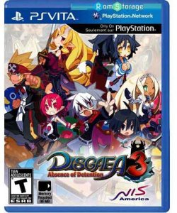 Jogo Disgaea 3: Absence of Detention - PSVita