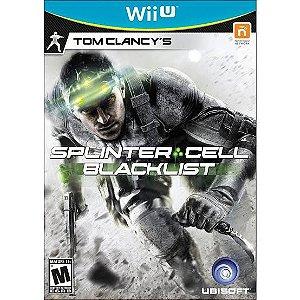 Jogo Tom Clancy's Splinter Cell Black List Nintendo WiiU Usado