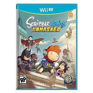 Jogo Scribblenauts Unsmaked: a DC Comics Adventure Nintendo WiiU Usado