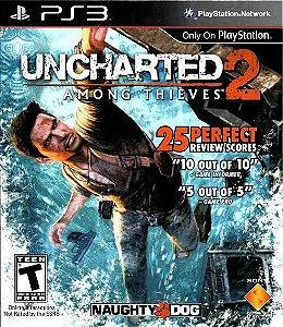 Jogo Uncharted 2: Among Thieves PS3 Usado