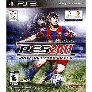 Jogo PES 2011 PS3 Usado