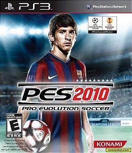 Jogo PES 2010 PS3 Usado