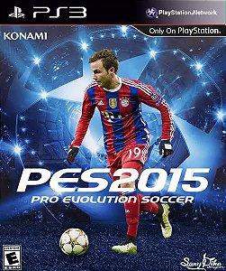 Jogo PES 2015 PS3 Usado