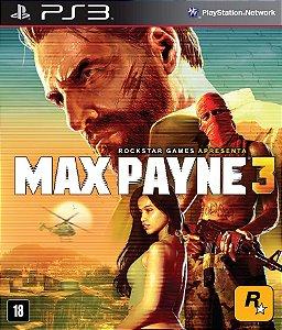 Jogo Max Payne 3 PS3 Usado