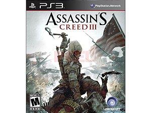 Jogo Assassin's Creed III PS3 Usado