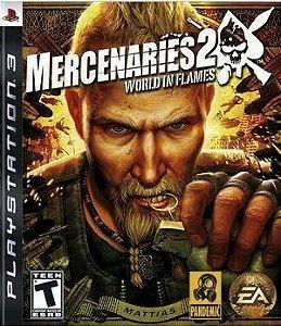 Jogo Mercenaries 2 PS3 Usado