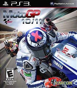 Jogo Moto GP 10/11 PS3 Usado